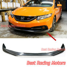 Mod Style Front Bumper Lip (Urethane) Fits 13-15 Honda Civic 4dr [US-Spec Only]