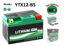 SKYRICH BATTERIA LITIO YTX12 BS BATTERY LITHIUM TRIUMPH BONNEVILLE 865 EFI 08-15