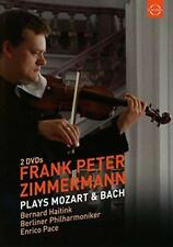 Frank Peter Zimmermann - Plays Mozart And Bach (NEW 2xDVD)