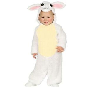 Baby White Sheep Lamb Nativity Easter Fancy Dress Costume