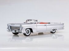 Scale model 1/18 1958 Lincoln Continental MKIII Open Convertible (Silver Gray)