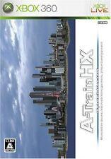 USED A Ressha de Gyouku HX / A-Train HX japan import Xbox 360