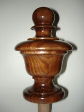 WOOD FINIAL UNFINISHED FOR NEWEL POST FINIAL OR CAP  Finial #34