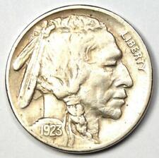 "1923-S Buffalo Nickel 5C Coin - Choice AU Details - Scarce Date ""S"" Mint Coin!"