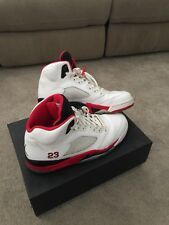 2013 Nike Air Jordan 5 Fire Red US12