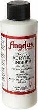 Angelus Brand Acrylic Leather Paint High Gloss Finisher No. 610 - 4 Oz