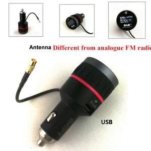 General Car Digital Radio FM Transmitter With USB Adapter Receiver Tuner Antenna