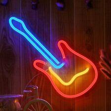 """LED Neonlicht-Zeichen  Raumdekor LED Neon Gitarrenlicht Nachtlichter USB 16"""" Bar"""