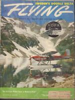 Flying Magazine Cessna 180 On Trapper Lake June 1956 020418nonr