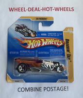 HOT WHEELS 2009 HW PREMIERE DRAGGIN TAIL RARE SHORT CARD MOC!