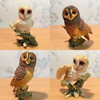 Small Owl Ornaments | Barn Owls | Tawny | Collectable Bird Figurines