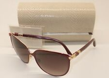 JIMMY CHOO JULIET/S XF5D8 Sunglasses Bordeaux Gold/Burgundy Grad ITALY UA9-1/25