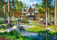 1000 Pieces Jigsaw Puzzle Cottage In The Forest - Brand New & Sealed