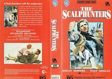 THE SCALPHUNTERS,  ACTION/THRILLER  **RARE VHS TAPE**  BURT LANCASTER