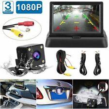 Rückfahrkamera Einparkhilfe System Autokamera mit 4.3'' LCD Monitor Nachtsicht