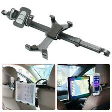 360° Rotating Tablet Kits Car Seat Headrest Phone Holder Dual Mount For iPad