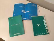 Japanese Subaru Impreza JDM WRX STI TYPE R Handbook User Guide