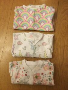 Baby Boys Girls Ex Store Sleepsuits Babygrow Playsuit 0 3 6 9 12 18 24 Months