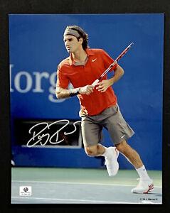 Roger Federer Tennis Signed 8x10 Photo Autographed Auto COA Rafael Nadal