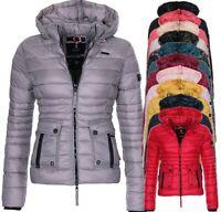 Navahoo Damen Steppjacke Herbst Winter Jacke Übergangsjacke jacke gesteppt Neu