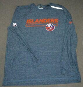 NEW NY Islanders Fanatics Authentic Pro Team Issue Long Sleeve Training Shirt XL