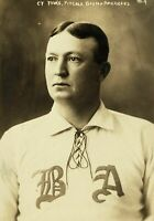 1902 Cy Young Vintage PHOTO Boston Americans, Hall of Fame World Series Champ!