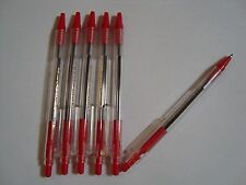 10 Red ball Point pens