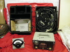 STODDART AIRCRAFT RADIO POWER SUPPLY PP-472/PRM-1 plus weston model 269 meter  z