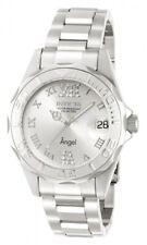 Invicta Women's 14396 Angel Quartz 3 Hand Silver Dial Watch