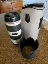 Canon EF 70-200 f/2.8L IS II USM Telephoto Zoom Lens Excellent Condition