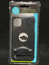 Brand new in package Iphone 11 protective  case with kickstand by Circuit. Black