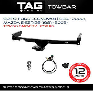 TAG Towbar to suit Ford Econovan (1984 - 2000), Mazda E-SERIES (1981 - 2003) Tow
