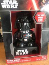 LARGE SIZE Star Wars * DARTH VADER BATTERY OP GUMBALL GUM BALL MACHINE MIB
