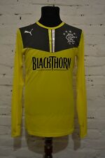 RANGERS GOALKEEPER FOOTBALL SHIRT 2013/2014 SOCCER JERSEY PLAYER ISSUE MENS M