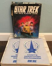 FASA VINTAGE 1983 STAR TREK THE ROLE PLAYING GAME SECOND EDITION * INCOMPLETE *