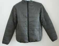Onfire Mens Funnel Neck Padded Jacket Grey - Size: XXL Chest 48''