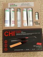 CHI enviro Smoothing treatments kit Colored, highlighted, Virg With G2 Flat Iron