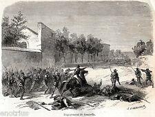 Battaglia di Milazzo: Scontro di Santa Maria delle Grazie.Garibaldi.Sicilia.1860