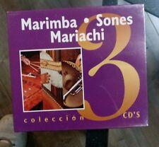 Marimba° Somes°Mariachi Colección (3Cds) [Brand New]