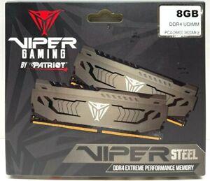 Patriot Viper Steel 1x8GB DDR4 UDIMM 3600 PC4-28800 3600MHz PE000774-PVS48G360C8