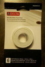 NEW Delta Non-Slip Tread Strips Extra Traction Slippery Surface Bath Tub Shower