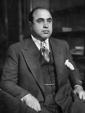 Al Capone 1930 Foto Crimen Mafia Boss Hp4027 cartel impresión de arte