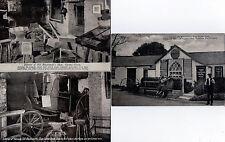 Lot Of 3 Vintage Original Postcards Of Old Blacksmith's Shop, Gretna Green