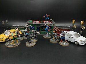 Marvel Crisis Protocol core set Atomic mass games pro painted custom order