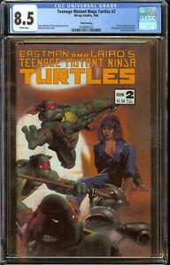 Teenage Mutant Ninja Turtles #2 Third Print VF+ (CGC 8.5)