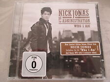 Nick Jonas & The Administration-Who I Am-limited edition deluxe CD + DVD