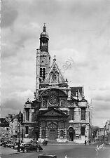 Cartolina - Paris  - Eglise S. Etienne du Mont - 1956 - Francobolli misti