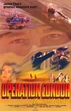 OPERATION CONDOR Movie POSTER 11x17 Jackie Chan Carol Cheng Eva Cabo De Garcia