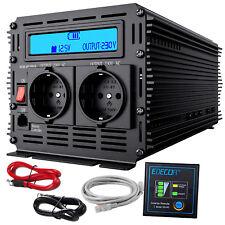 Spannungswandler 3000W - 6000 watt 12V - 230V Softstart Wechselrichter mit LCD