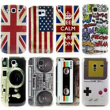 Mobile Phone Protection Cover Hard Case for Samsung Motif Bag Cover Case